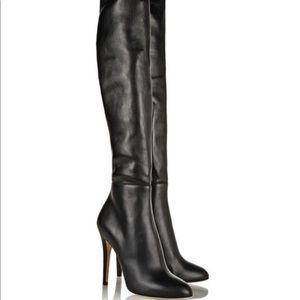 NWOT Jimmy Choo Turner Over The Knee Thigh Boots